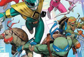Power Rangers e Tartarugas Ninja se unem em HQ; veja o 'Tartarugazord'