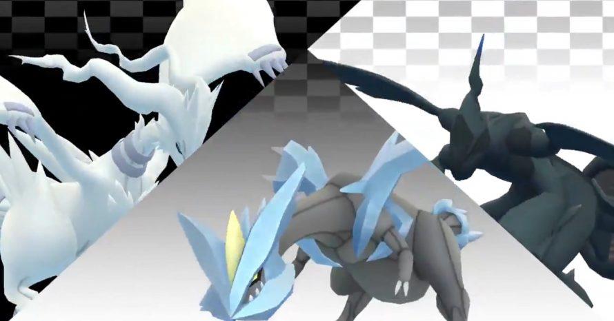 Pokémon Go anuncia chegada dos lendários Reshiram, Zekrom e Kyurem