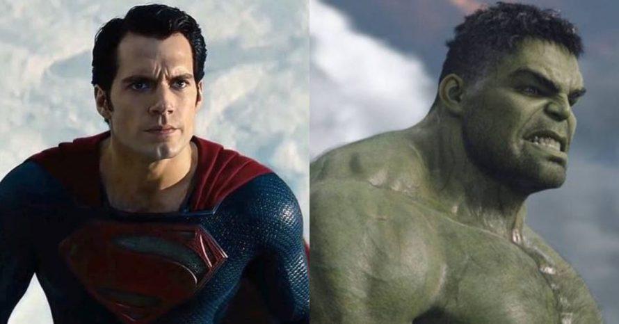 Superman pode ter papel semelhante ao do Hulk nos próximos filmes da DC