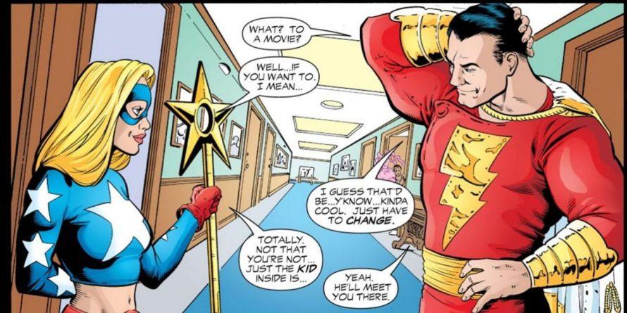 Shazam e Stargirl já foram casal improvável nos quadrinhos da DC