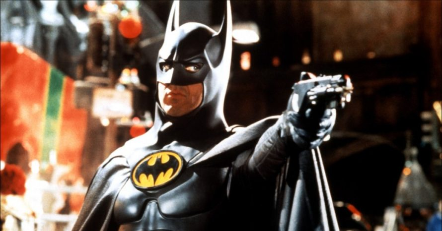 Como o Batman de Michael Keaton poderia aparecer no filme do Flash