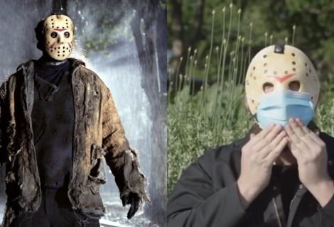 Jason Voorhees estrela campanha de conscientização de uso de máscaras; confira