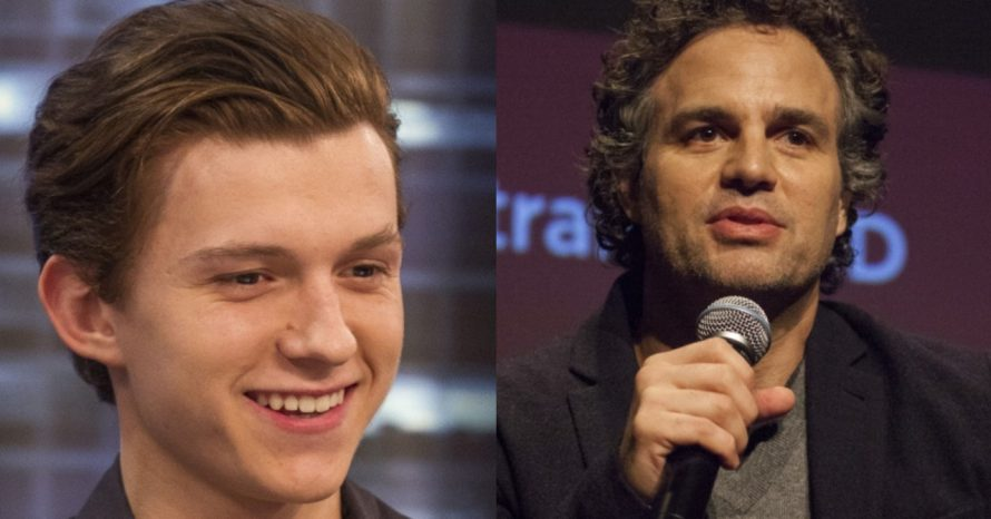 Tom Holland atrapalha entrevista de Mark Ruffalo no set de Ultimato; assista