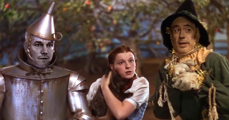 Fã cria vídeo bizarro que mistura os Vingadores com O Mágico de Oz; assista