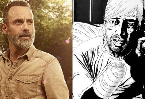 The Walking Dead: série quase fez Rick perder a mão igual aos quadrinhos