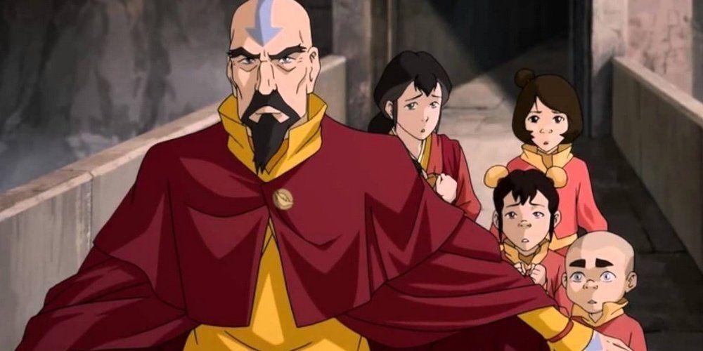Avatar-A Lenda de Korra Tenzin