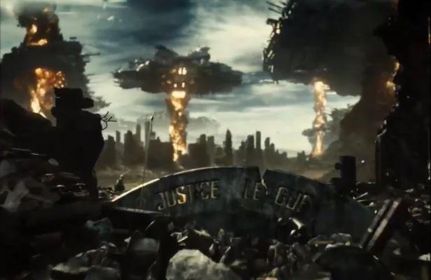 Liga da Justiça-Snyder Cut pesadelo