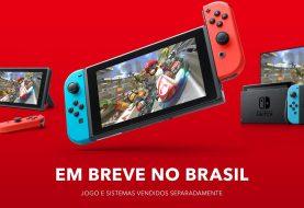 Nintendo Switch chega oficialmente ao Brasil três anos após lançamento