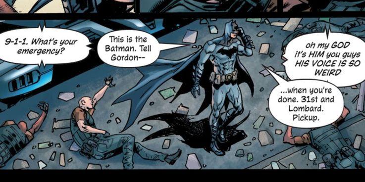 Batman-voz quadrinhos