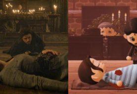 Game of Thrones: fã recria famoso Casamento Vermelho em Animal Crossing