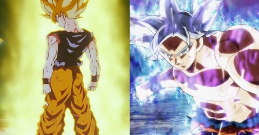 As principais transformações de Goku no decorrer de Dragon Ball