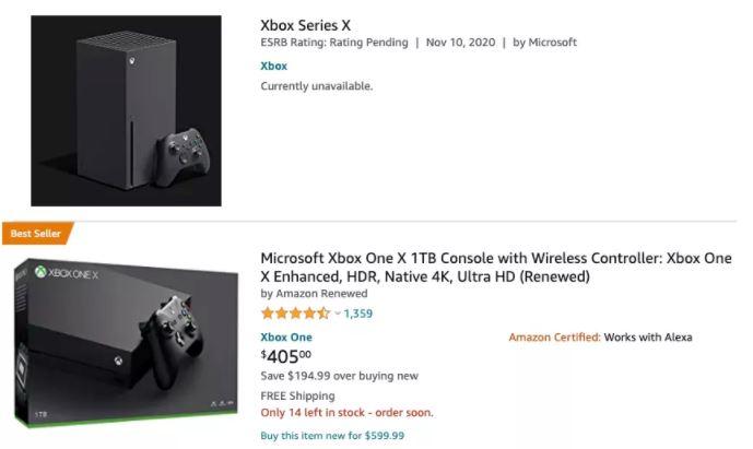 Xbox Series X confusão