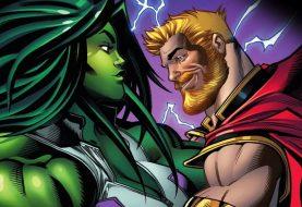Thor e Mulher-Hulk começam relacionamento nos quadrinhos