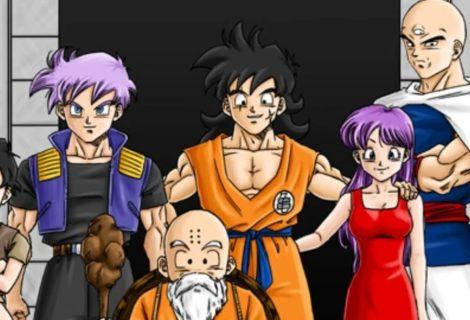 Dragon Ball: mangá de fãs transformou os humanos em uma raça poderosa