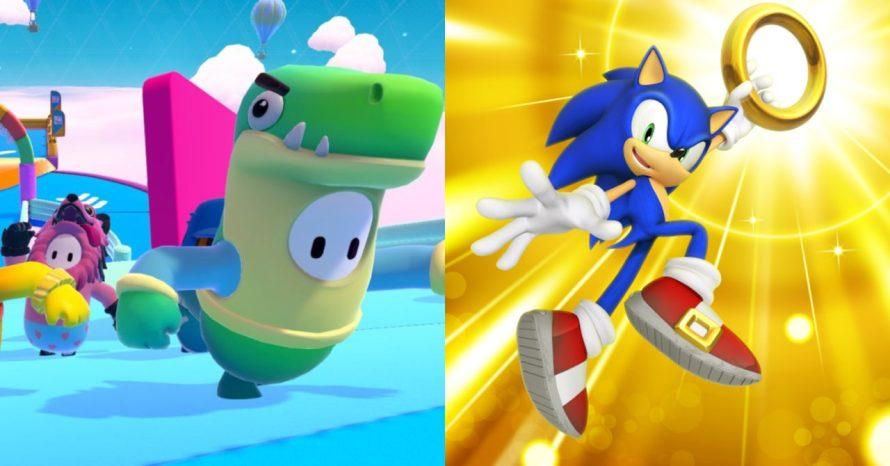 Fall Guys: vazamento revela skin do Sonic para 2ª temporada