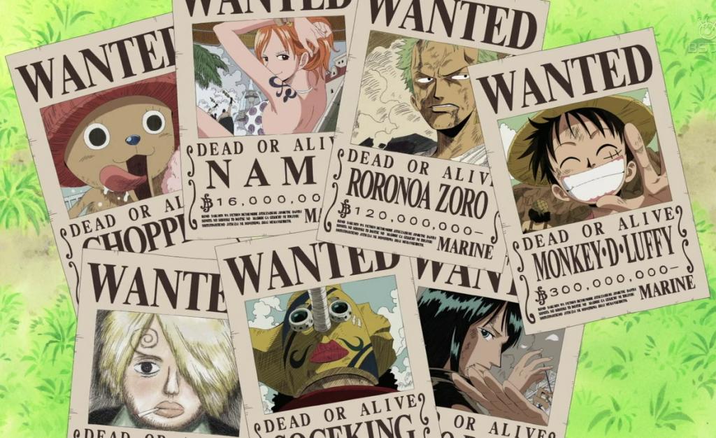 One Piece-recompensas