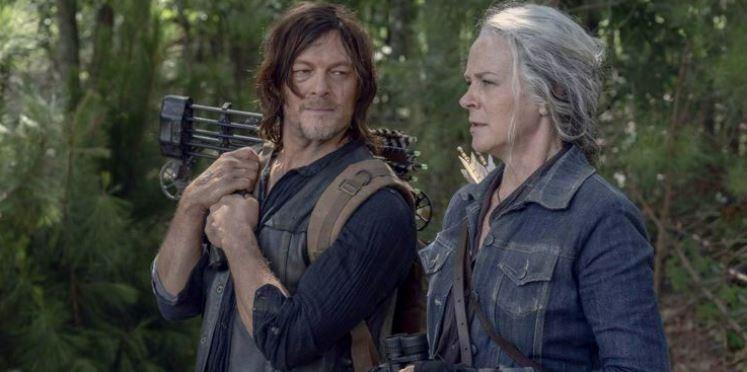 The Walking Dead Daryl e Carol