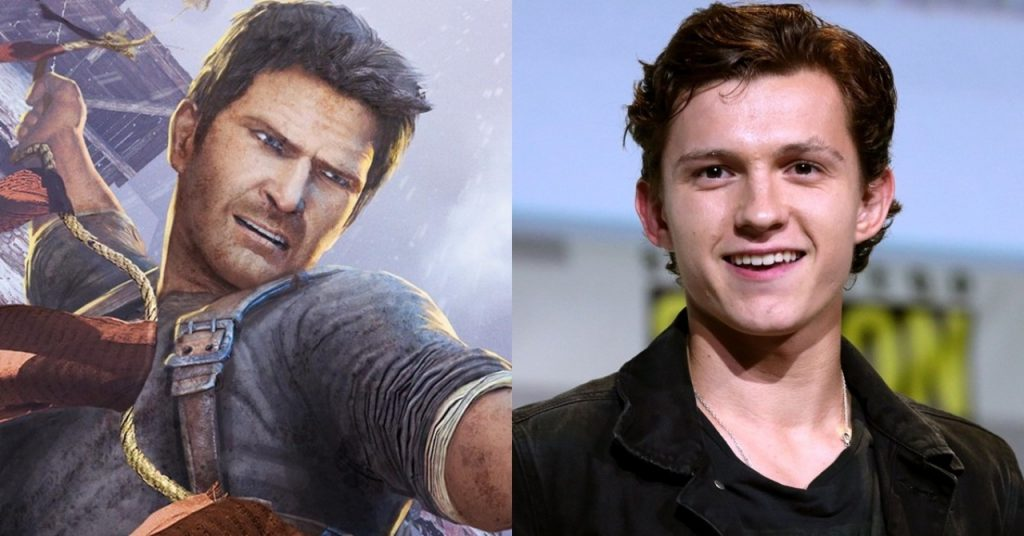 Uncharted-Tom Holland Nathan Drake