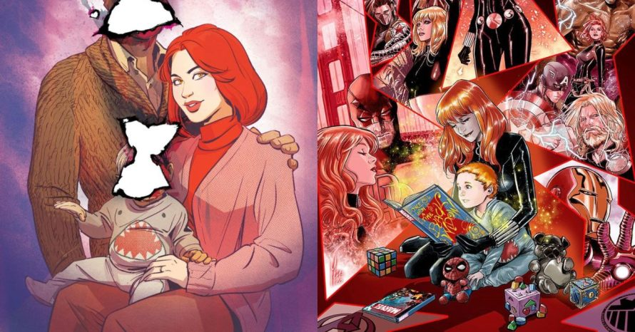 Viúva Negra: capas das próximas HQs mostram o filho de Natasha
