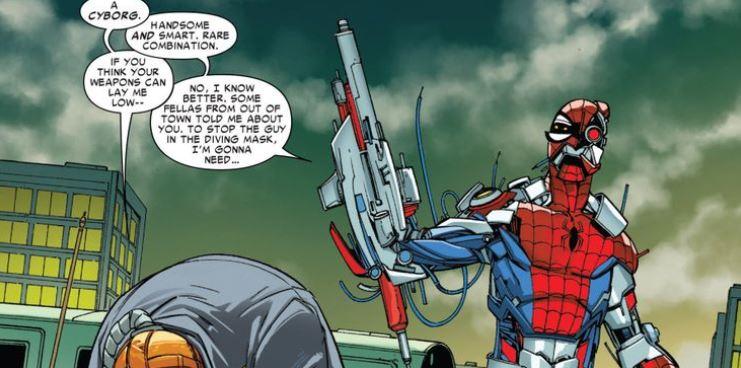 Homem-Aranha ciborgue