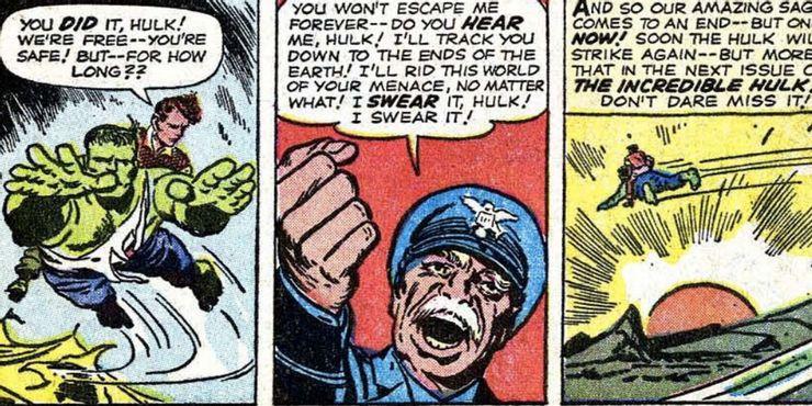 Hulk voando