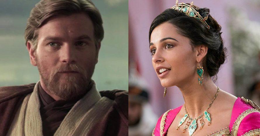 Série de Obi-Wan Kenobi pode ter atriz da princesa Jasmine, de Alladin