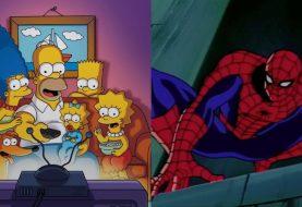 Os Simpsons já foram parodiados em HQs do Homem-Aranha e Hulk