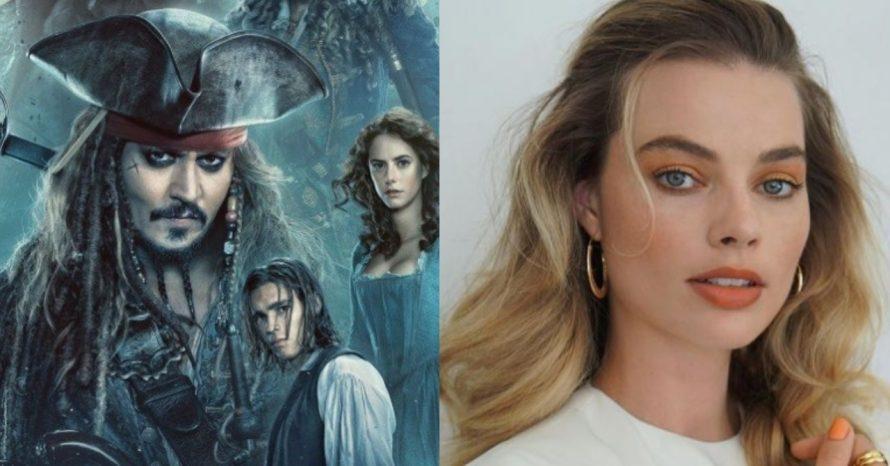 Piratas do Caribe: Margot Robbie se manifesta sobre o novo filme