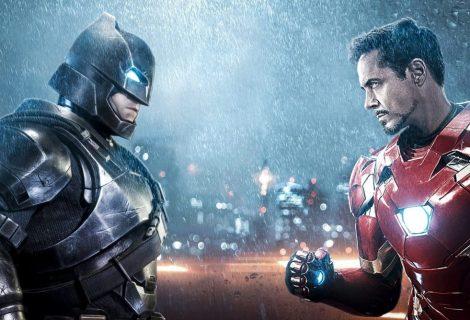 Banco revela quem é mais rico: Batman ou o Homem de Ferro