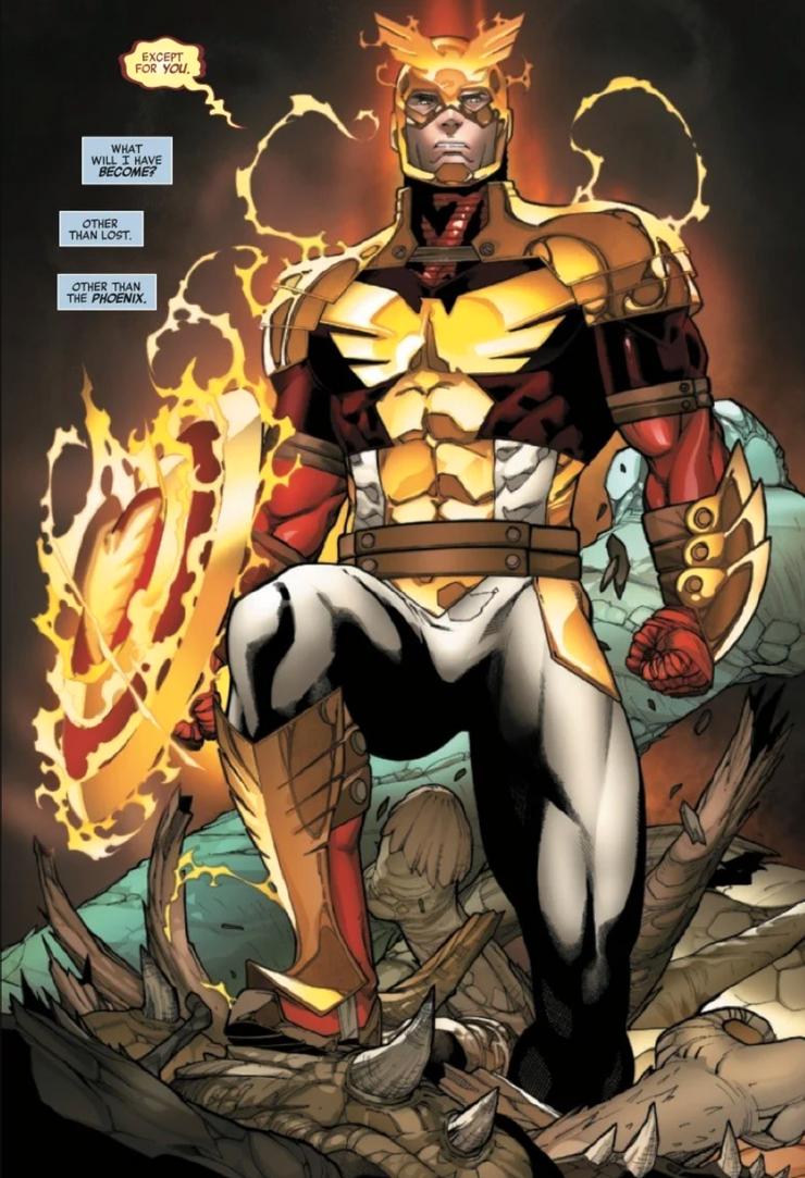 Capitão América-traje Força Fênix