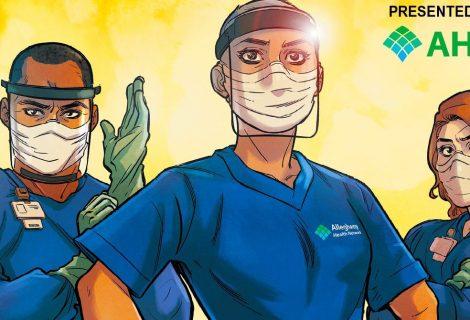 Marvel lança HQ para homenagear profissionais de saúde