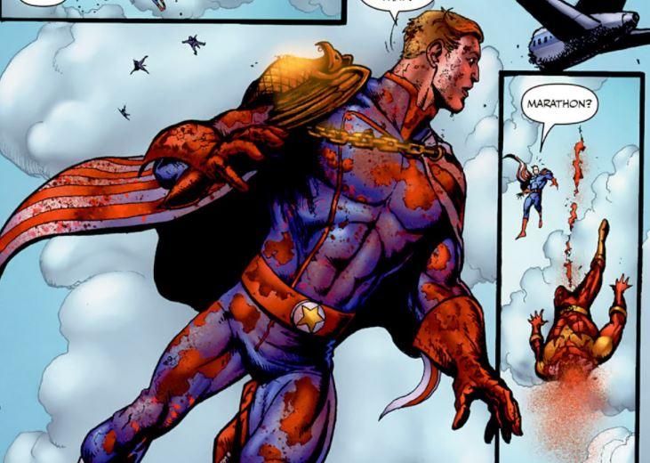 The Boys-paródia Flash morte