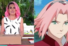 Ana Maria Braga pinta cabelo de rosa e diz ter se inspirado em Naruto
