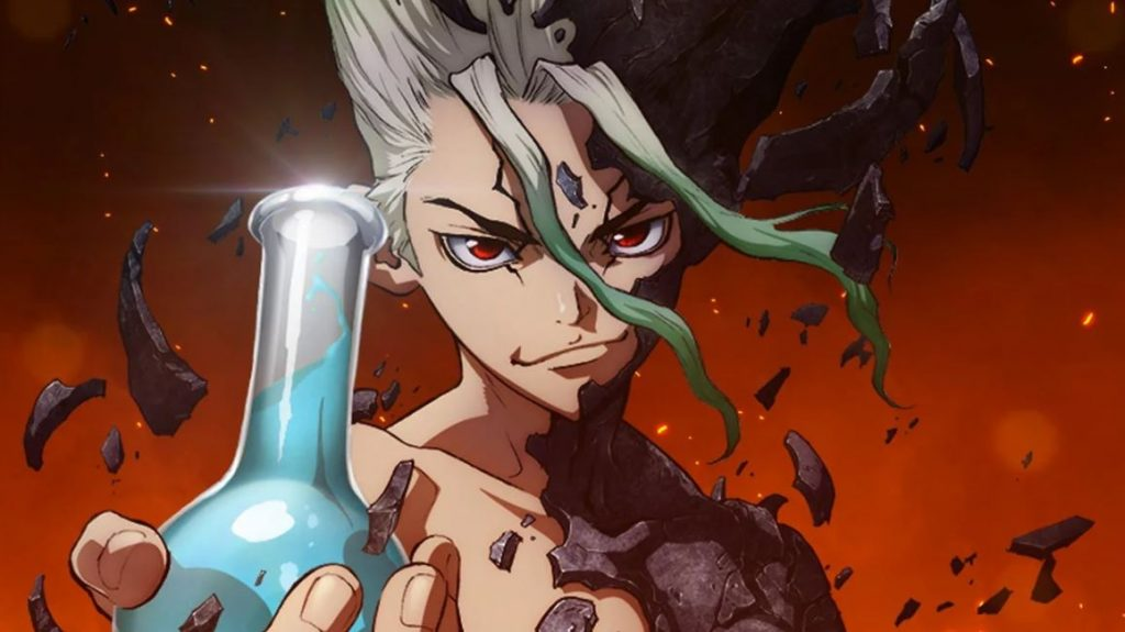 Animes 2021-Dr. Stone Stone Wars