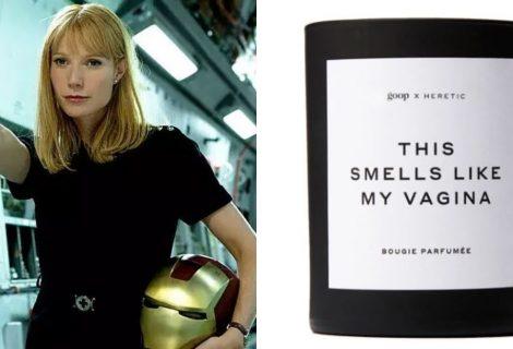 Vela com cheiro 'das partes' de Gwyneth Paltrow explode em casa de britânica