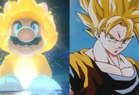 Fãs comparam visual do Mario para novo game com Super Saiyajins de Dragon Ball