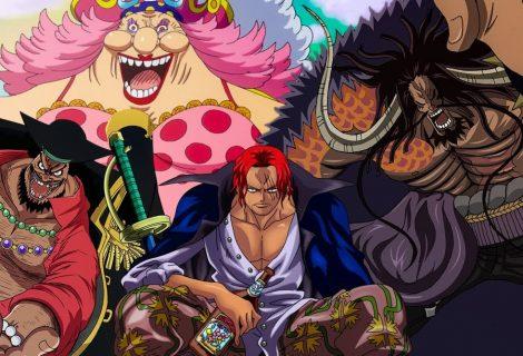 One Piece: recompensa pelos quatro Yonkou é atualizada no anime