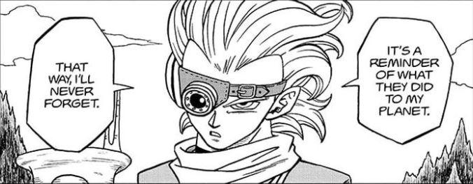 Dragon Ball Super-Granola rancor