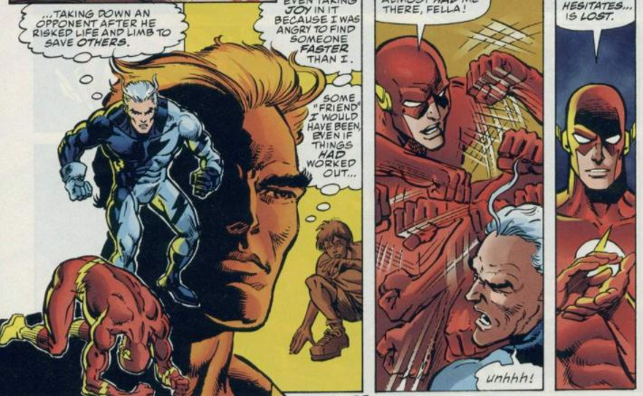 Flash vs Mercúrio