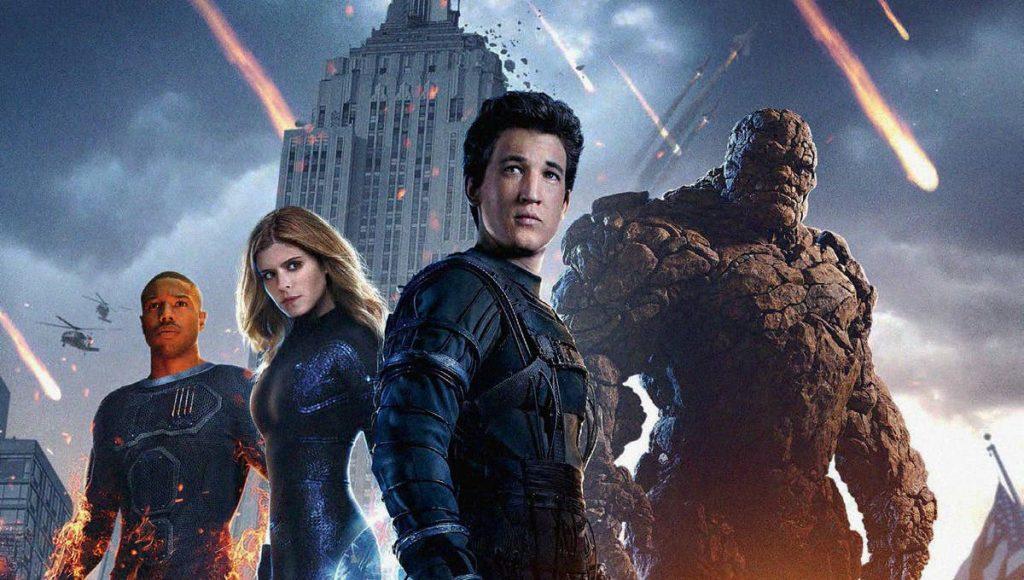 Marvel e DC-piores filmes Quarteto Fantástico