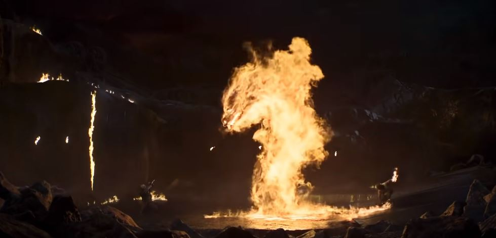 Mortal Kombat-trailer referências