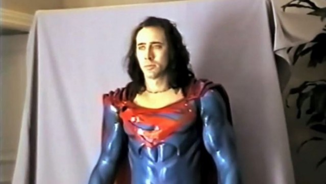 Superman-Nicolas Cage