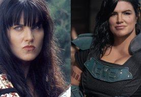 The Mandalorian: web pede atriz de Xena no lugar de Gina Carano