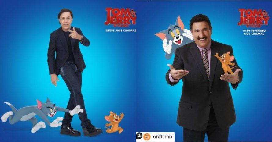 Filme de Tom e Jerry terá 'dublagem' de Tom Cavalcante e Ratinho