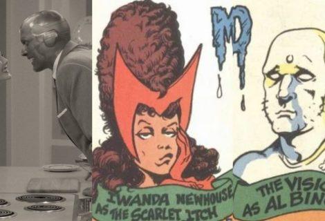 WandaVision: HQ da Marvel já mostrou a vida em casal de Wanda e Visão