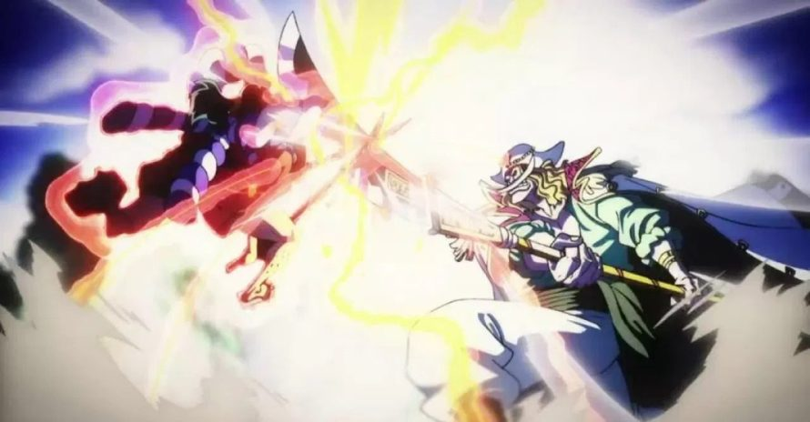 One Piece: anime mostra batalha épica entre Oden Kozuki e Barba Branca