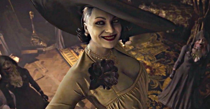 Resident Evil Village tem Lady Dimitrescu em tamanho real na divulgação