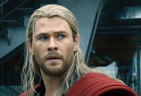 Chris Hemsworth mostra 'pôster barato' de Thor: Love and Thunder