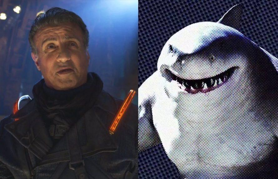 Surpresa! Sylvestre Stallone é o Tubarão Rei no novo O Esquadrão Suicida
