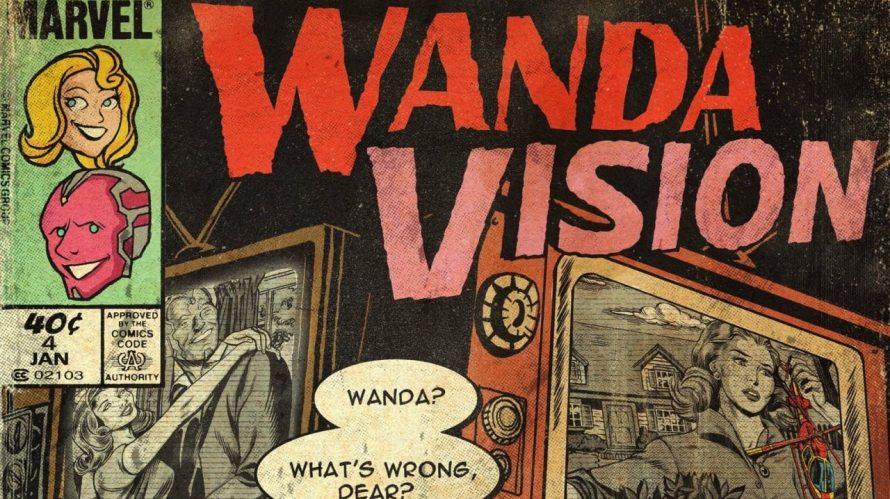 Artista anônimo cria capas de quadrinhos vintage para WandaVision